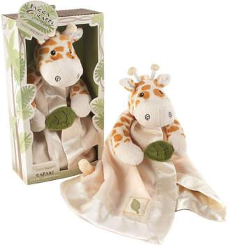 Baby Aspen Jakka The Giraffe Little Expeditions Plush Rattle Lovie