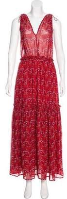 Ulla Johnson Sleeveless Printed Dress