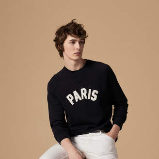 Sandro Paris patch unisex sweatshirt
