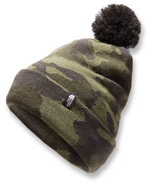The North Face Unisex Camo-Print Ski Tuke Pom Hat - Kids