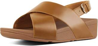 FitFlop Lulu Leather Back-Strap Sandals