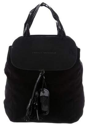 Fratelli Rossetti Velvet & Patent Leather Bag
