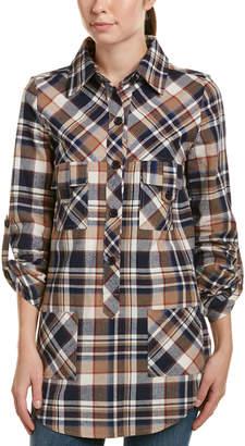 DAY Birger et Mikkelsen Hers & mine Hers & Mine Plaid Flannel Shirtdress