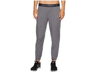 Under Armour Featherweight Fleece Pants Women's Casual Pants