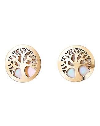 Fantasie 9 Carat Gold Tree of Life Earrings