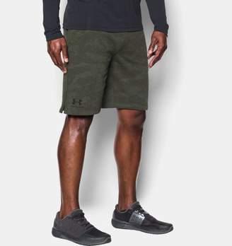 Under Armour Men's UA Sportstyle Fleece Camo Shorts