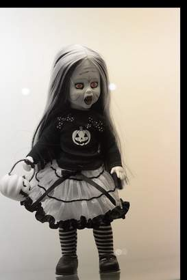 Living Dead Dolls Sweet Tooth Black And White Halloween Fall Exclusive From Mezco Toyz Limited Edition Of 666