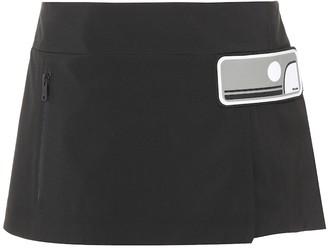 Prada Embellished mini-skirt