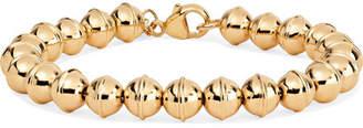 Marlo Laz Squash Blossom 14-karat Gold Bracelet