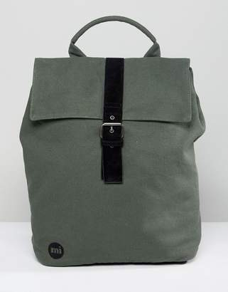 Mi-Pac Canvas Day-Pack In Khaki