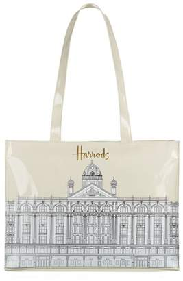 Harrods Illustrated Building Shoulder Bag