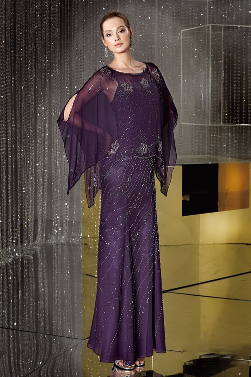 Alyce Paris Mother of the Bride - 29088 Dress In Amethyst