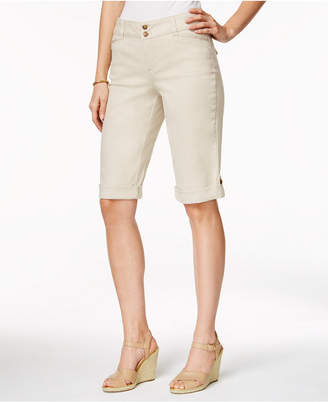 Charter Club Cuffed Bermuda Shorts, Created for Macy's
