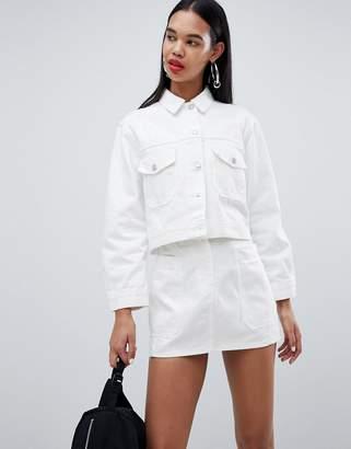 Weekday Cropped Denim Jacket
