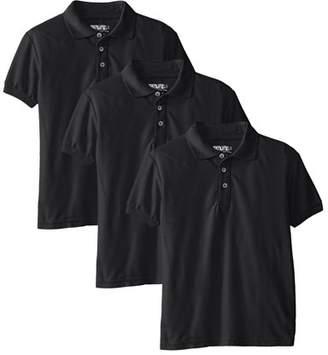 Genuine School Uniform Genuine Uniform Boys Short Sleeve Polo 3 Pack