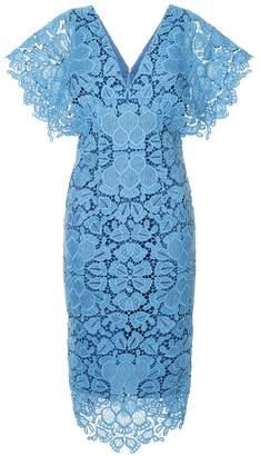 Ginger & Smart floral lace shortsleeved dress