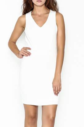 Luce C. White Stella Dress