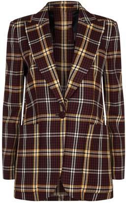 Burberry Check Wool Blazer