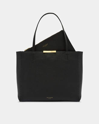 Ted Baker CLARKIA Soft leather shopper bag