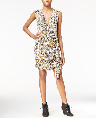 RACHEL Rachel Roy Draped Faux-Wrap Dress, Only at Macy's $119 thestylecure.com