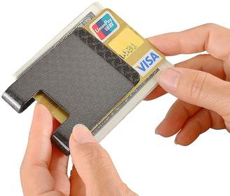 Christian Louboutin Carbon Fiber Money Clip, CARBONLIFE RFID Business Credit card holder Glossy wallet