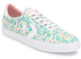 Converse Breakpoint Floral-Print Sneakers $65 thestylecure.com