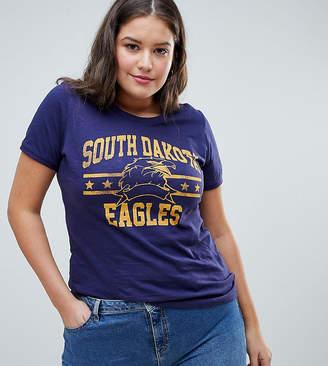 Brave Soul Plus Dakota T Shirt