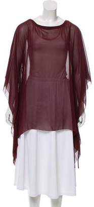 Tory Burch Oversize Silk Top w/ Tags