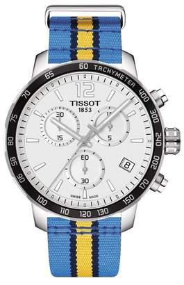 Tissot Men's Quickster Chronograph NBA Denver Nuggets Watch, 42mm