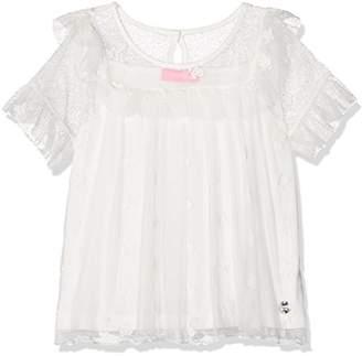 Gaudi' Gaudì Girl's 811JD45010-2102 Sport Shirt, (White Alyssum 2102)