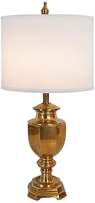 One Kings Lane Vintage Brass Urn Lamp - The Gilded Room
