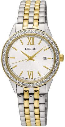 Seiko Limited Edition Women's Special Value Two-Tone Stainless Steel Bracelet Watch 28mm