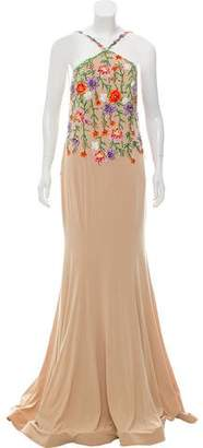 Jovani Embellished Embroidered Grown w/ Tags