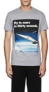"""Blood Brother MEN'S """"MARS"""" COTTON T-SHIRT - GRAY SIZE S"""