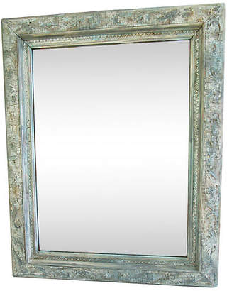 One Kings Lane Vintage Painted French Wall Mirror - AntiqueLifestyle