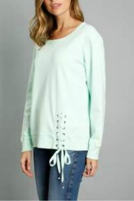 Mod-o-doc Mododoc Lace-Up Sweatshirt