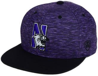 Top of the World Northwestern Wildcats Energy 2-Tone Snapback Cap