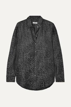 Equipment Essential Silk-jacquard Shirt