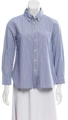 The Great Long Sleeve Button-Up Top