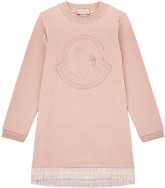 Moncler Logo Sweater Dress