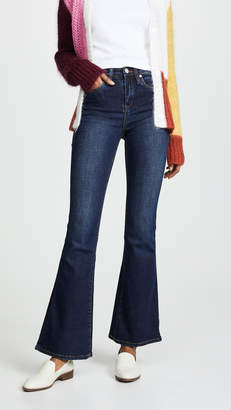 Blank The Waverly High Rise Flare Jeans
