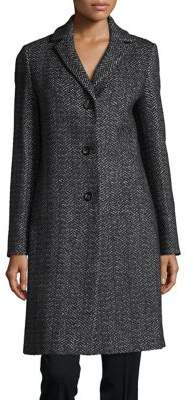Cinzia Rocca Long Tweed Coat