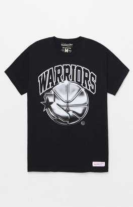 Mitchell & Ness Golden State Warriors Chrome T-Shirt