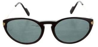 Cartier Tinted Round Sunglasses