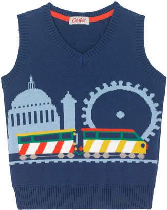 Cath Kidston Kids Knitted Train Tank
