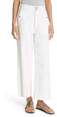 Rebecca Taylor Drapy Denim Pants