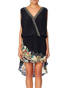 Camilla Midnight Moonchild Crossover Dress W/ Long Back
