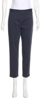 Draper James Polka Dot Mid-Rise Pants