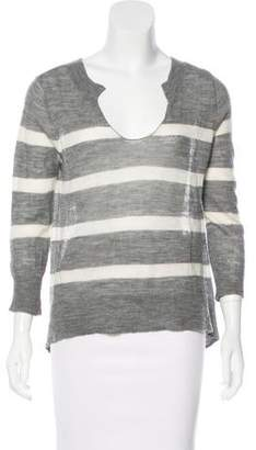 Ulla Johnson Alpaca Striped Top