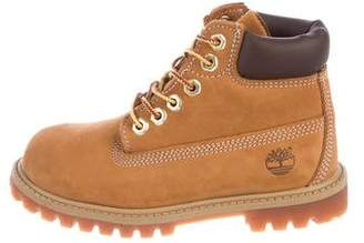 Timberland Boys' Classic Leather Boots